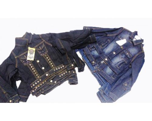 Куртка  дет. джинсовая в асс. 935