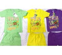Костюм (футболка+шорты) 4,6,8,10 0665