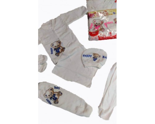 Комплект для новорожденных 5 пр. Bebetto Baby ККТ-005