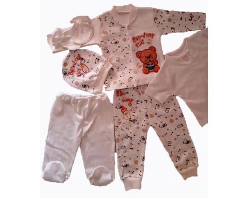 Комплект для новорожденных 6пр. 1111